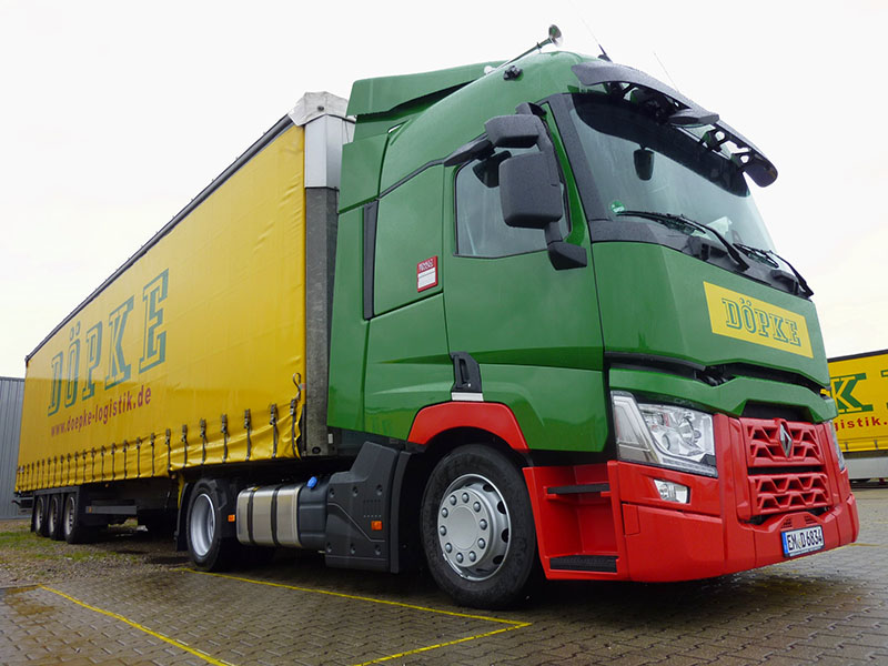 Umstellung Auf EURO VI Hat Begonnen: Auslieferung Der Ersten Renault T-Truck