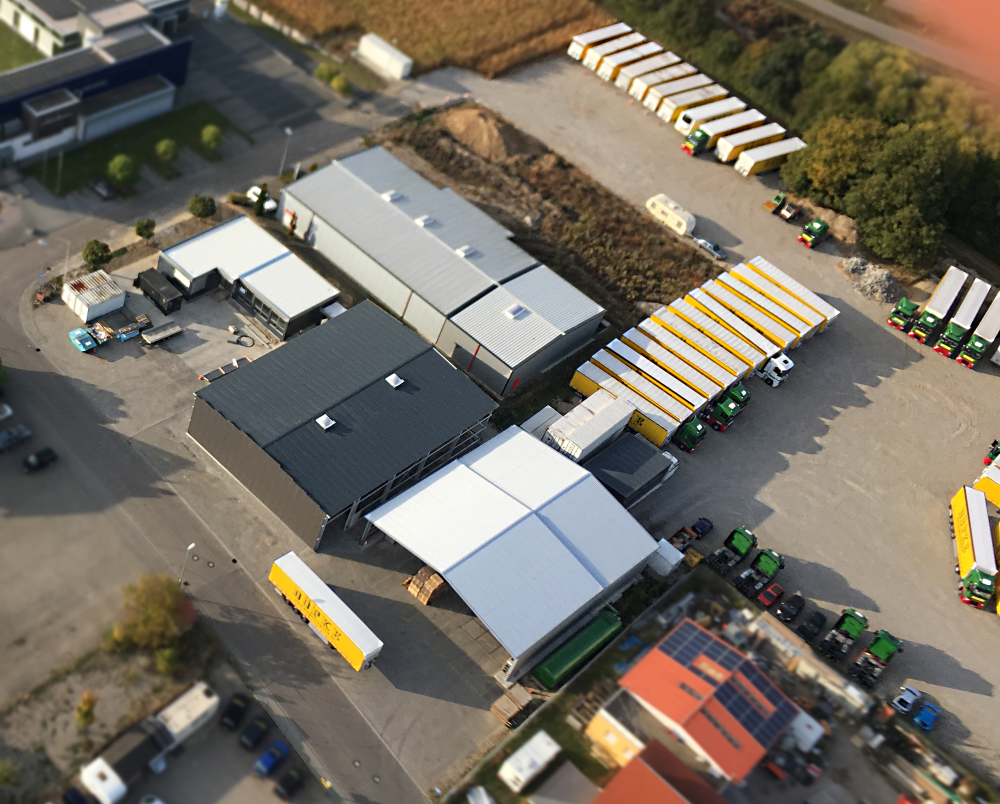 Erweiterung Der Lagerflächen: Neubau Einer 1000qm-Lagerhalle