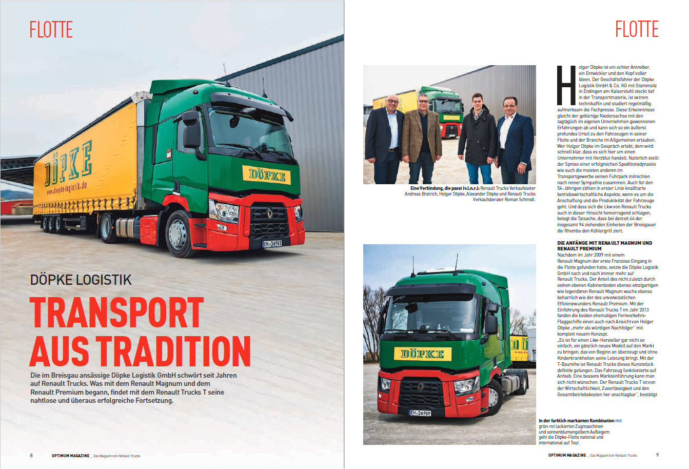 Döpke Im Renault Optimum Magazine