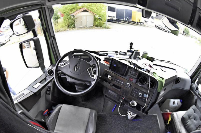 Interview in der Badischen Zeitung: LKW-Fahrer händeringend gesucht