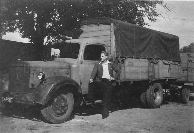 Das erste Fahrzeug von Willi Döpke im Jahre 1946