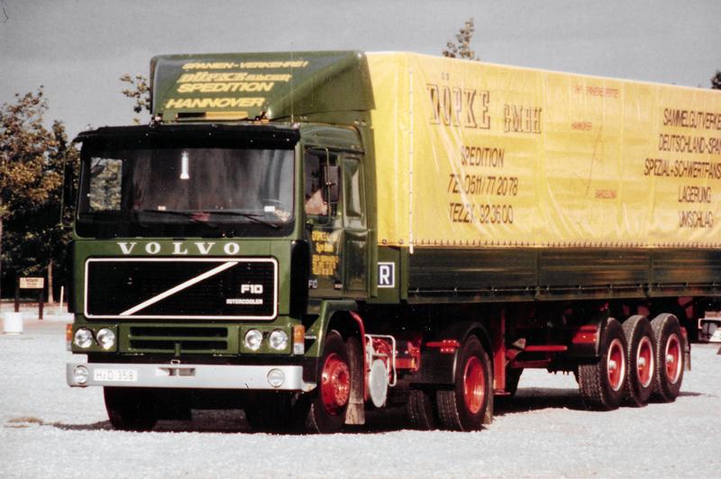 1984: Volvo für den Spanien-Verkehr
