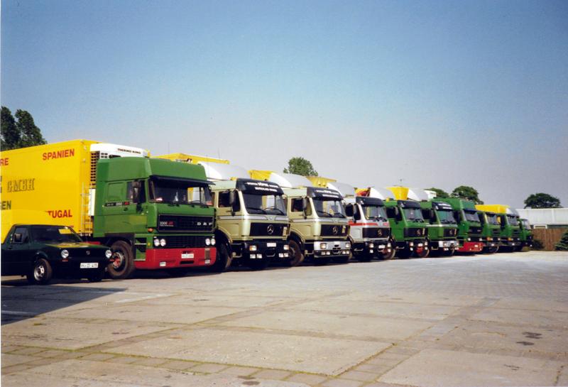 Flotte im Jahr 1988