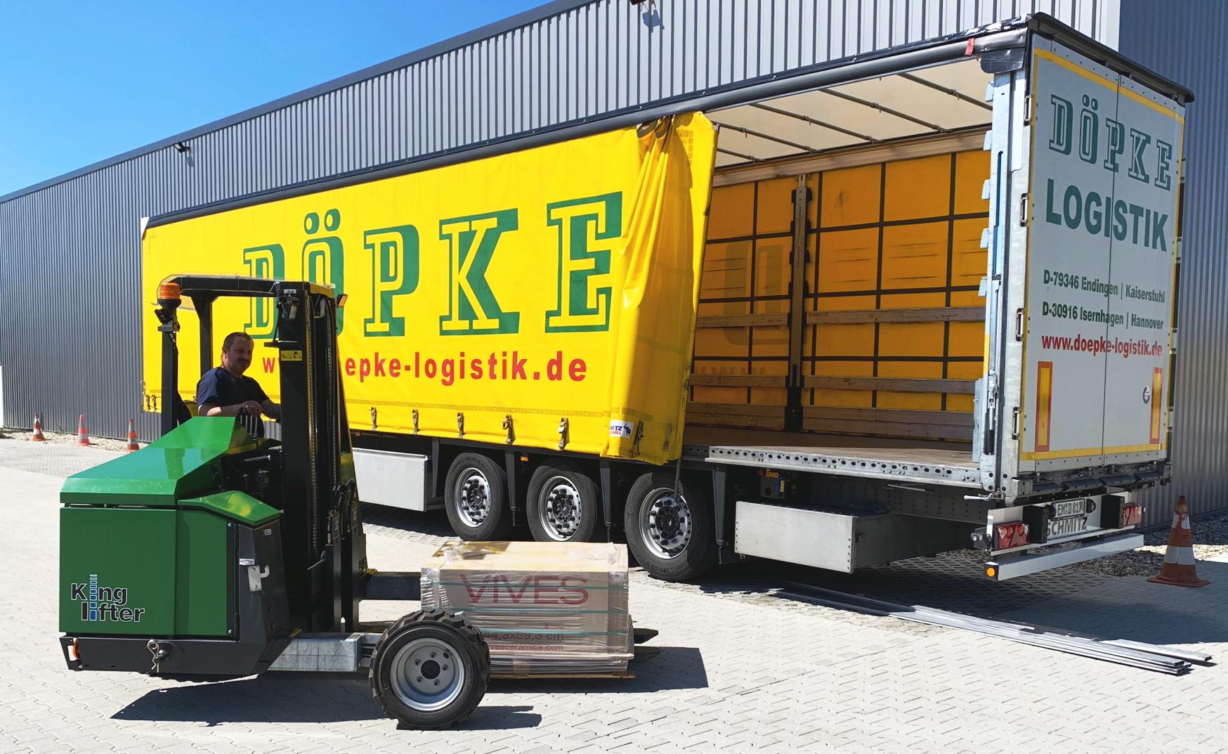 Manufaktur-Logistik: Neuer Mitnahmestapler Eröffnet Neue Möglichkeiten